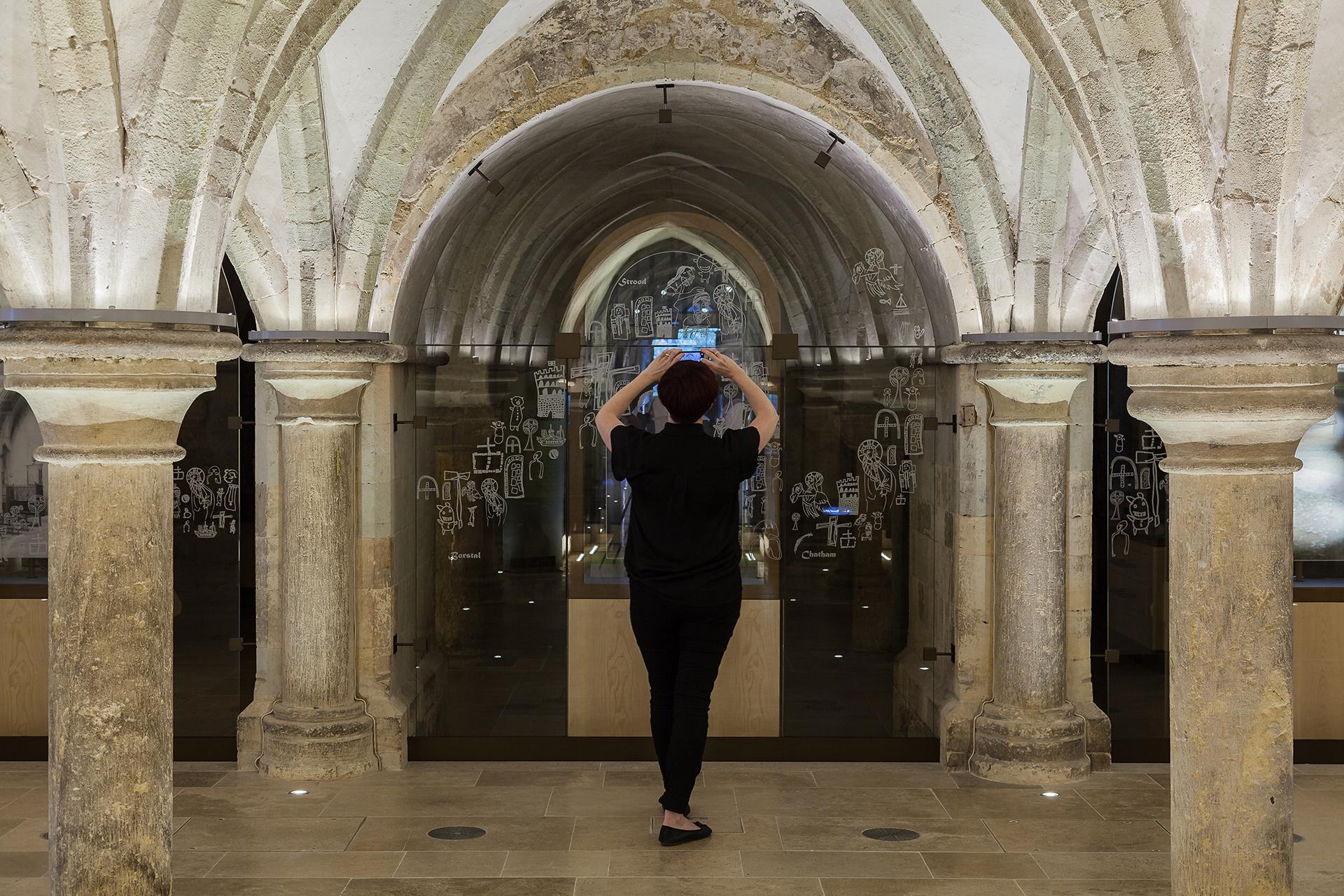 The Crypt Glass Manifestation